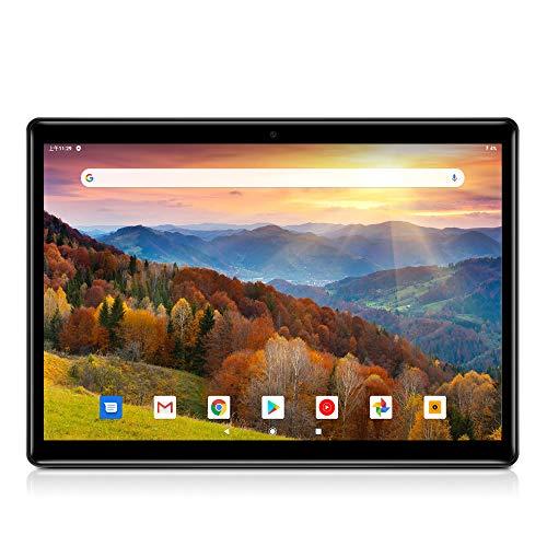 "Tablet PC 10 Zoll(10.1\""),Android 8.1,Octa Core,4GB RAM,64GB Speicher,IPS Display 1280x800,3G Dual SIM,Bluetooth(Schwarz)"