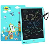 GKTZ LCD Writing Tablet for Kids 10 inch Electronic Drawing Pads Doodle and Scribbler Boards for Boys and Girls Learning Handwriting Painting and Notes Board Gifts for Children Ages 3+ Blue