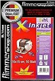 SIHL Fotopapier Hochglanz, keramikbeschichtet, 280 g/m², 10 x 15 cm, 50 Blatt, Photopapier, glossy, hochglänzend