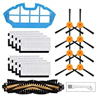 Bopfimer 交換用フィルターとブラシ Deebot N79 N79S DN622 500 N79W N79 Yeedi K600、K700ロボット掃除機用