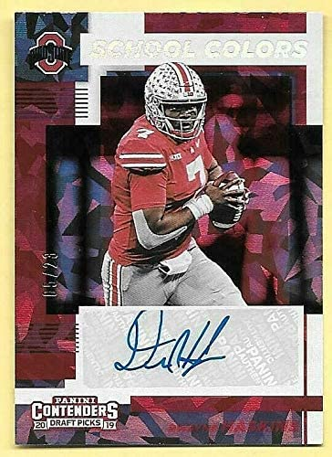 2019 Contenders DP School Colors Ice 25% OFF Dwayne Haskins Cracked Auto latest