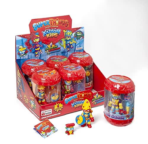 SUPERTHINGS Kazoom Kids – Colección completa de Kazoom Kids. Cada Kid viene con 1 SuperThing y 1 accesorio de combate