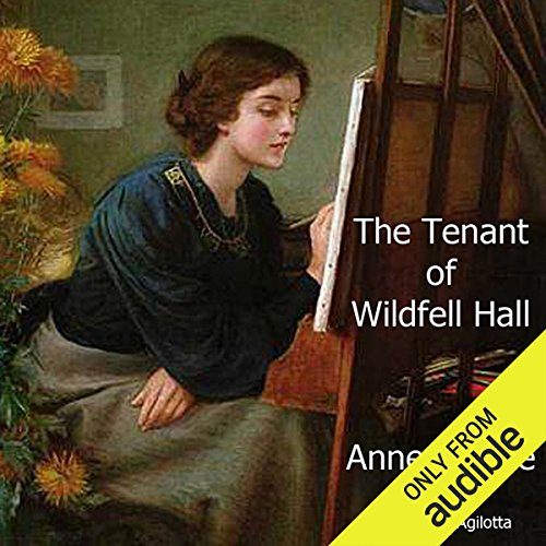The Tenant of Wildfell Hall audiobook cover art