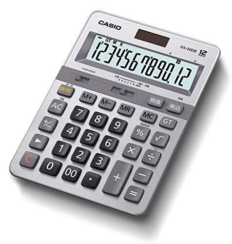 カシオ 本格実務電卓 日数&時間・税計算 デスクタイプ 12桁 DS-20DB-N