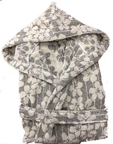Carrara Bademantel mit Kapuze, 100% Baumwolle, Qualität L beige