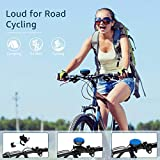 Olafus Bluetooth Speaker for Bike Outdoor, 5.0 Strong Signal Portable Speaker with HD Immersive Sound, Advanced Built-in Mic, IP65 Waterproof Mini Speaker, 10H Playtime Wireless Speaker for Riding