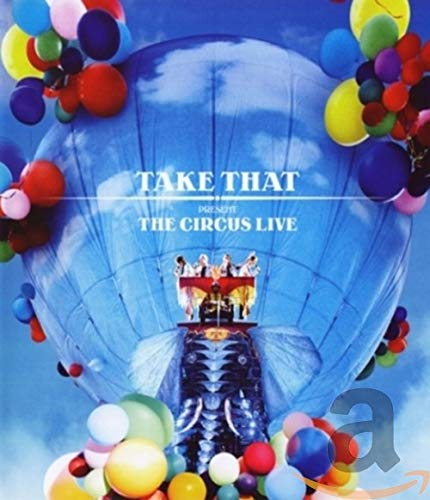 Take That - The Circus Live [Blu-ray] [2009] [Region Free]