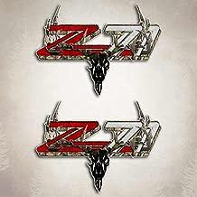 Decals Camouflage Silverado 4x4 Truck Hunting Deer Archery Skull Sticker Set