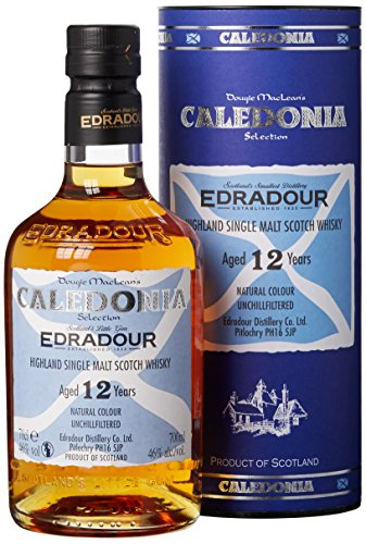 Edradour 12 Jahre Caledonia Single Malt Whisky (1 x 0.7 l)