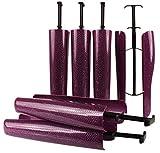 biped 3pares de hormas para botas con resorte tensor y agarre horma para cañas de 35cm violeta brillante z2466