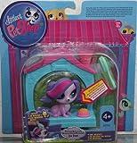 Littlest Pet Shop - Ich bewege Mich - Magic Motion - #3362 Zoe Trent / Dog - Caseta mágica para perros - A5130 - Hasbro