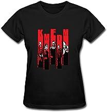Dotion Women's KMFDM Band Design T Shirt