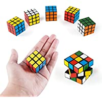 6-Pack Super Z Outlet Mini Color 3x3 Cube Puzzle Game Toy