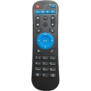 Wuqiong ForMXQ-4K reemplazo MXQ H96 Pro T9 X96 Mini T95Z más Smart TV Box Mando a Distancia de Control: Amazon.es: Hogar