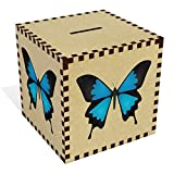 Azeeda Groß 'Ulysses Schmetterling' Sparbüchse / Spardose (MB00075932)
