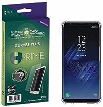 Kit Pelicula Curves Pro + Capa transparente TPU para Samsung