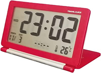Reloj Despertador LCD Reloj ElectróNico Digital Reloj De Mesa Mundial De La Hora Mundial Ultra-