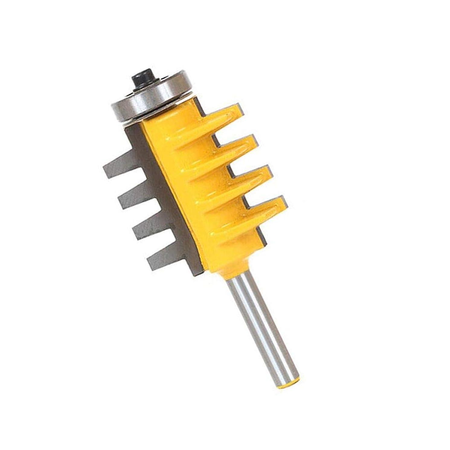 Finger Joint Router Bit,Yingte 1/2 Inch Shank Reversible Finger Joint Glue Joint Router Bit for Woodworking