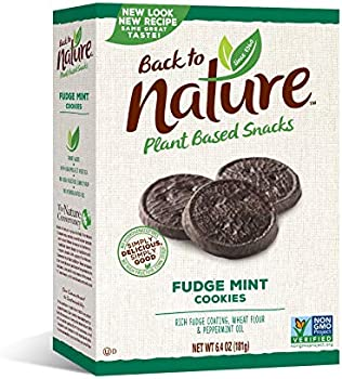 Back to Nature Non-GMO Fudge Mint Cookies, 6.4 Ounce