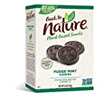 Back to Nature Cookies, Non-GMO Fudge Mint, 6.4 Ounce