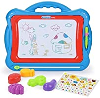 NextX Magnetic Drawing Board, Educational Writing and Learning Doodle Pad Creative Toy for Toddlers Boys Girls Age of 2,...