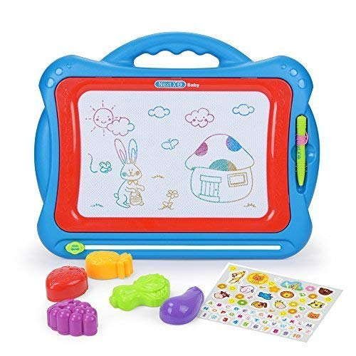 NextX Magnetic Drawing Board, Educational Writing and Learning Doodle Pad Creative Toy for Toddlers...