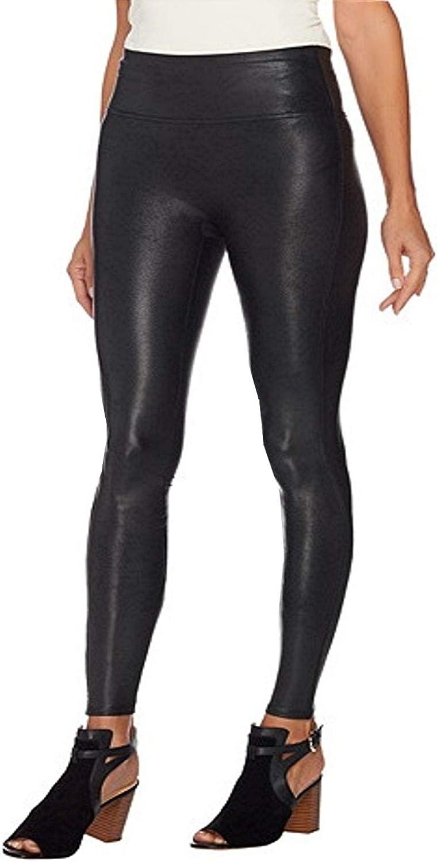 SPANX Faux 割引 Leather Leggings 日本限定 Black in