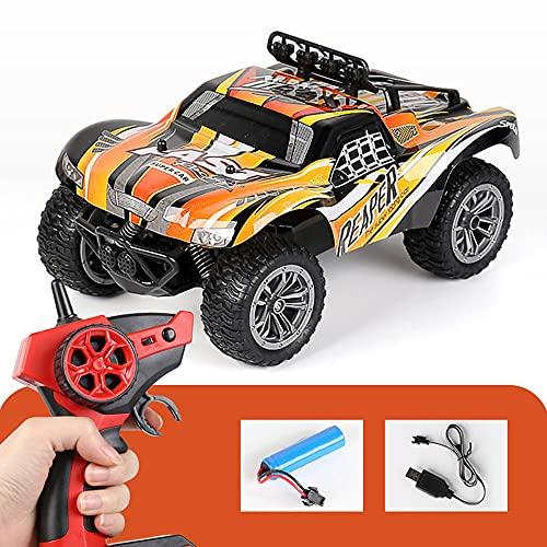 M-zen RC Off-Road Car 2.4G 25km / H High Speed Bigfoot Monster Reptile Camión RC Vehículo RC 1:18 Escala Desierto Todo Terreno Escalada Deriva Seguimiento RC Coche Juguetes Cumpleaños Regalos