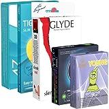 kondomotheke Special Tight Pack A5 – 5 x Condones, ancho 47-49mm (Amor, Glyde, My.Size, RFSU, Ritex)
