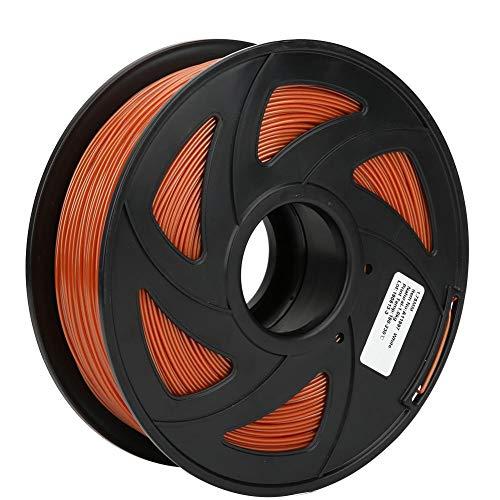 3D Printer Filament, 1.75mm Diameter 35.3oz PLA Filament Bundle Long Brown Red Printing Material Consumables Accuracy +/- 0.05 mm Spool for Most Printer