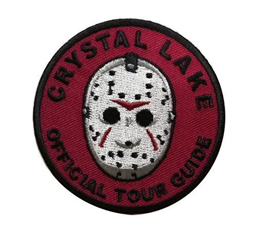 Titan One Europe Tactical Crystal Lake Jason Official Tour Guide Badge of Merit Horror Movie Patch Klettband Taktische Aufnäher