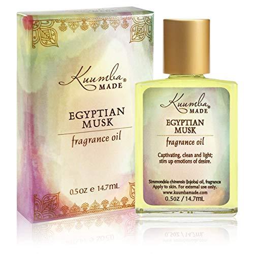 KUUMBA MADE Egyptian Musk Fragrance Oil, 0.5 Ounce