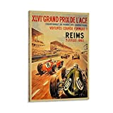 Grand Prix ACF REIMS 3 Juillet 1960 Poster, dekoratives