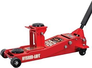 Torin Big Red Hybrid Lift Floor Jack, 2 Ton/3.5 Ton (4,000 lb/7,000 lb) Capacity
