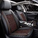 Autositzbezüge Auto-Sitzabdeckung, Universal Autositzbezug Für Chrysler 300C Golf 4 H4 Lincoln Mkc Audi A3 A4 B6 B8 A6 A5 Q7 Subaru Imprez Autozubehör Styling, Blau,Kaffee