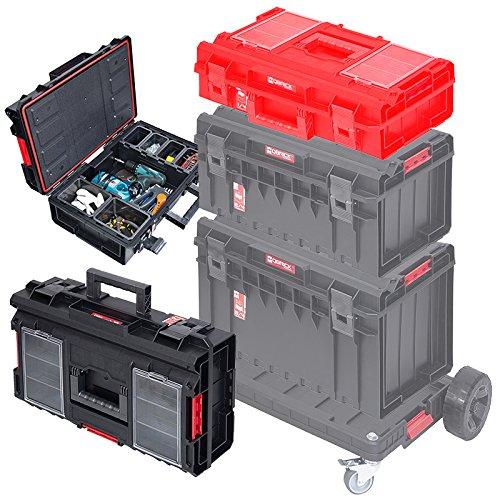 QBRICK One 200 Profi Werkzeugkoffer Staubox Werkzeugkasten Werkzeugkiste Werkstatttrolley Toolbox