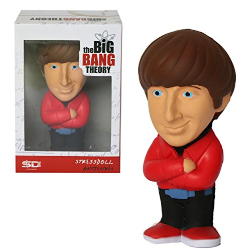 SD toys The Big Bang Theory Anti-Stress-Figur Howard Wolowitz 14 cm