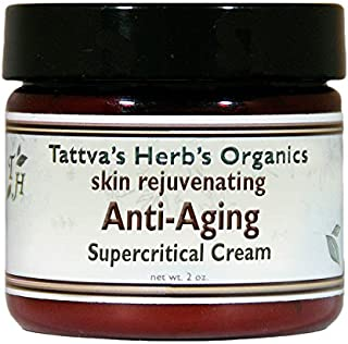 Organic Anti-Aging Face Cream - Reducing Wrinkles, Supporting Underlying Tissues, Cell Regeneration - Dairy, Gluten, Wheat...