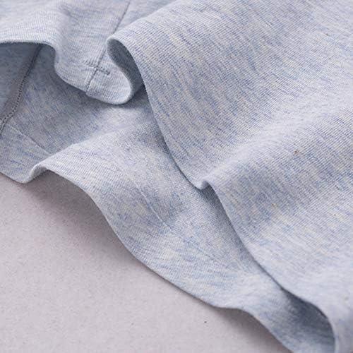 JIUMENG Men's Boxer Briefs Underwear Men's Comfortable Cotton Underwear Grey