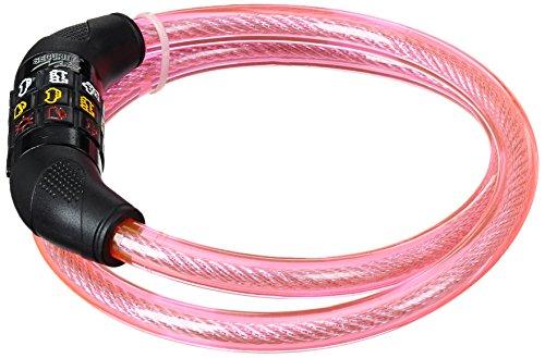 Security Plus ® Kinder Symbolkabelschloss Pink One size