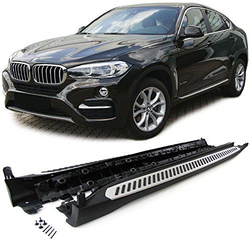 Carparts-Online 30033 Alu Trittbretter Schweller OE Style mit ABE