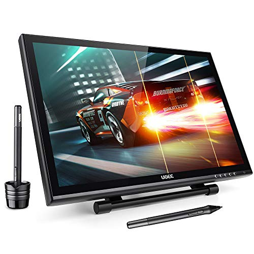 """Ugee 19"""" Graphics Drawing Pen Tablet Monitor with Screen Protector and Pergear Clean Kit"""