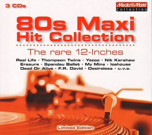 Media Markt Collection - 80s Maxi Hit Collection - The rare 12-Inches