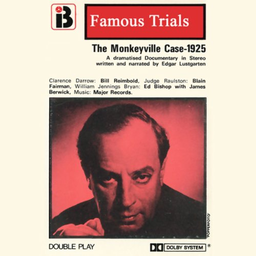 The Monkeyville Case audiobook cover art