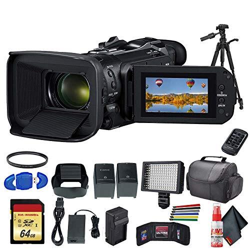 Canon Vixia HF G60 UHD 4K Camcorder (Black)...