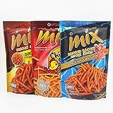 泰国进口零食虾条VFOODS MIX脆脆条/玉米条 原味/香辣味/熏肉味