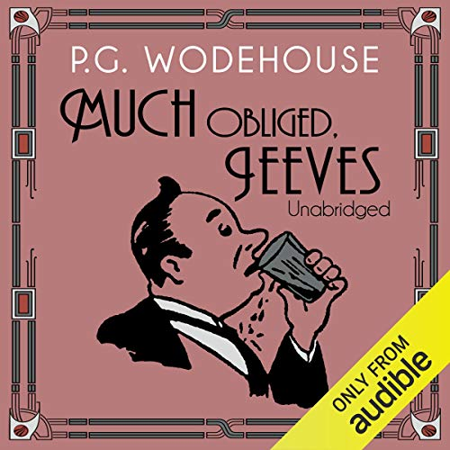 Much Obliged, Jeeves cover art