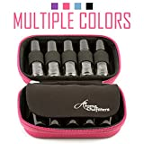 Essential Oil Carrying Case – Premium Protection for Roller Bottles – Hard Shell Case Protects up to 10 bottles - Perfect for Travel