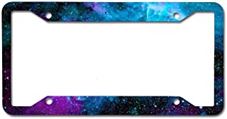 Best galaxy license plate frame Reviews