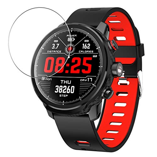 Vaxson 3 Stück Schutzfolie kompatibel mit Padgene L5 smartwatch Smart Watch, Displayschutzfolie Bildschirmschutz Blasenfreies [nicht Panzerglas]
